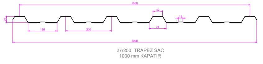 27-200 beton trapezi