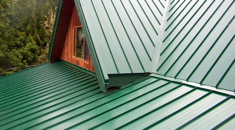 metal çatı kaplaması